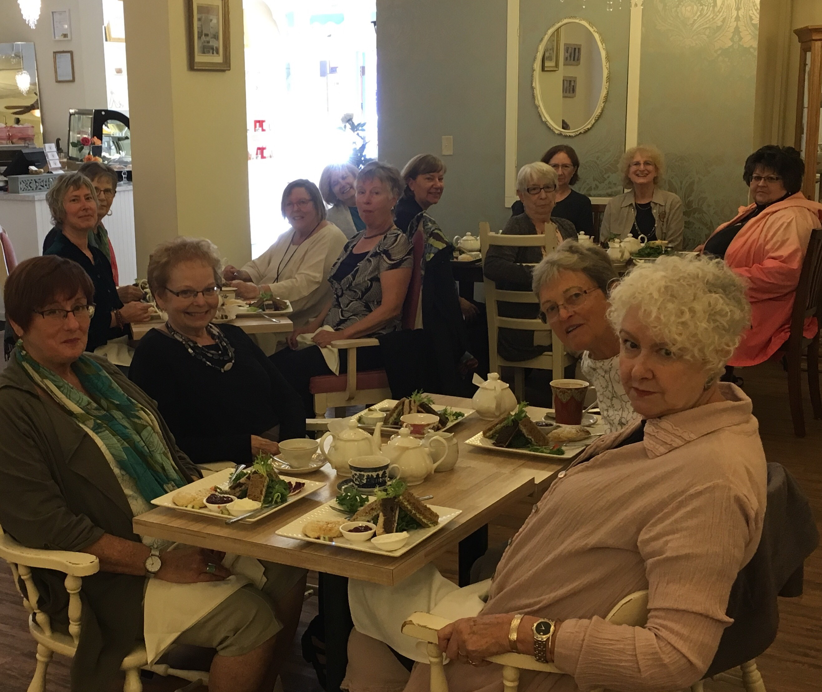 TEA AT VENUS SOPHIA SEPT 2018