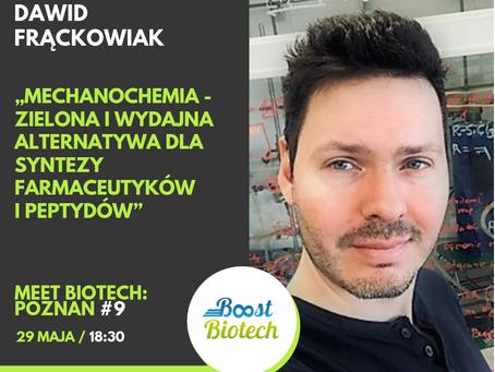 Wykład dr Fhrątza na MeetBiotech#9