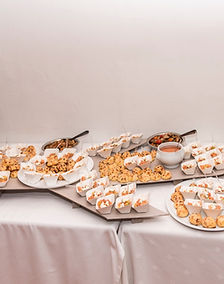 support avion buffet mariage