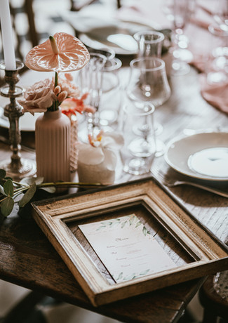 Le menu - décoration de table mariage - décoration et organisation de mariage - Landes - Dax - Aquitaine
