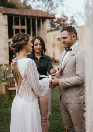 Céréminie laïque - wedding planner - Rituel du ruban - Landes - Dax - Mont de Marsan