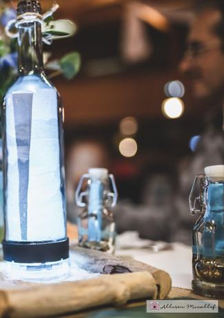 décoration centre de table - thème mer - location décoration mariage - dax - landes - Aquitaine - wedding designer