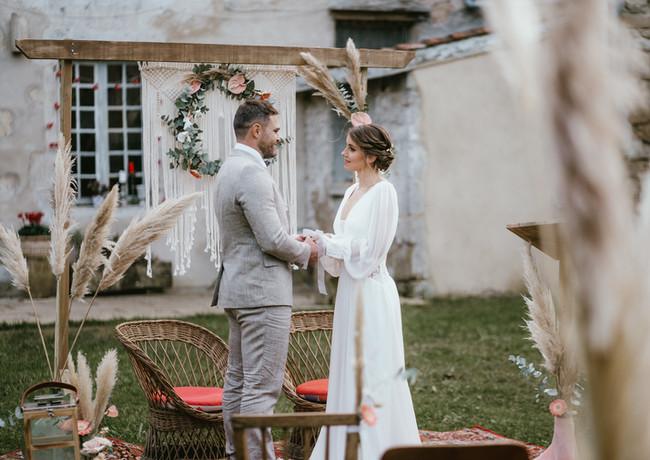 Cérémonie laïque - cérémonie d'engagement - wedding planner - wedding designer - Landes -Aquitaine