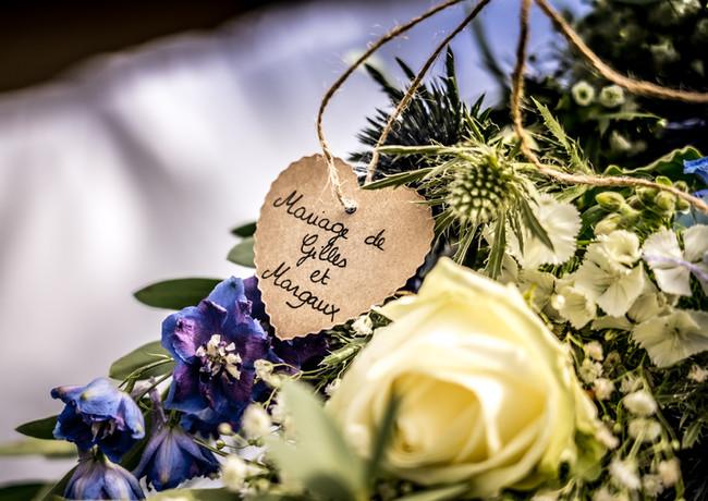 Mariage - décoration voiture - fleurs mariage - wedding planner - Landes - Dax