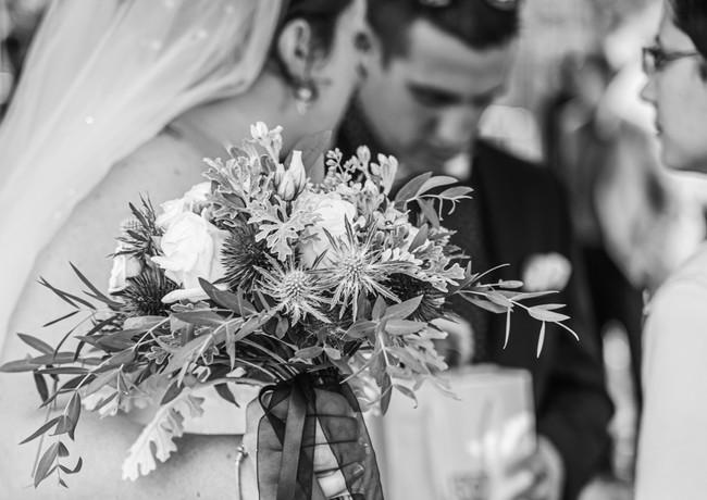 bouquet de la mariée - décoration florale mariage - wedding designer - wedding planner - Landes