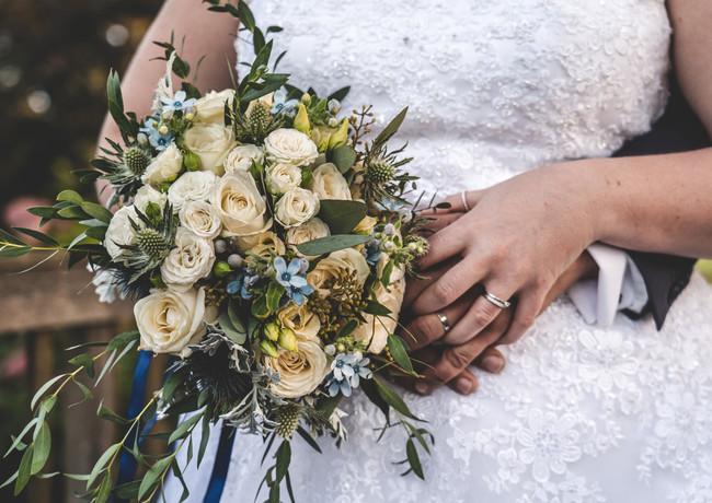 Bouquet de la mariée - décoration florale - décoratrice de mariage - Landes