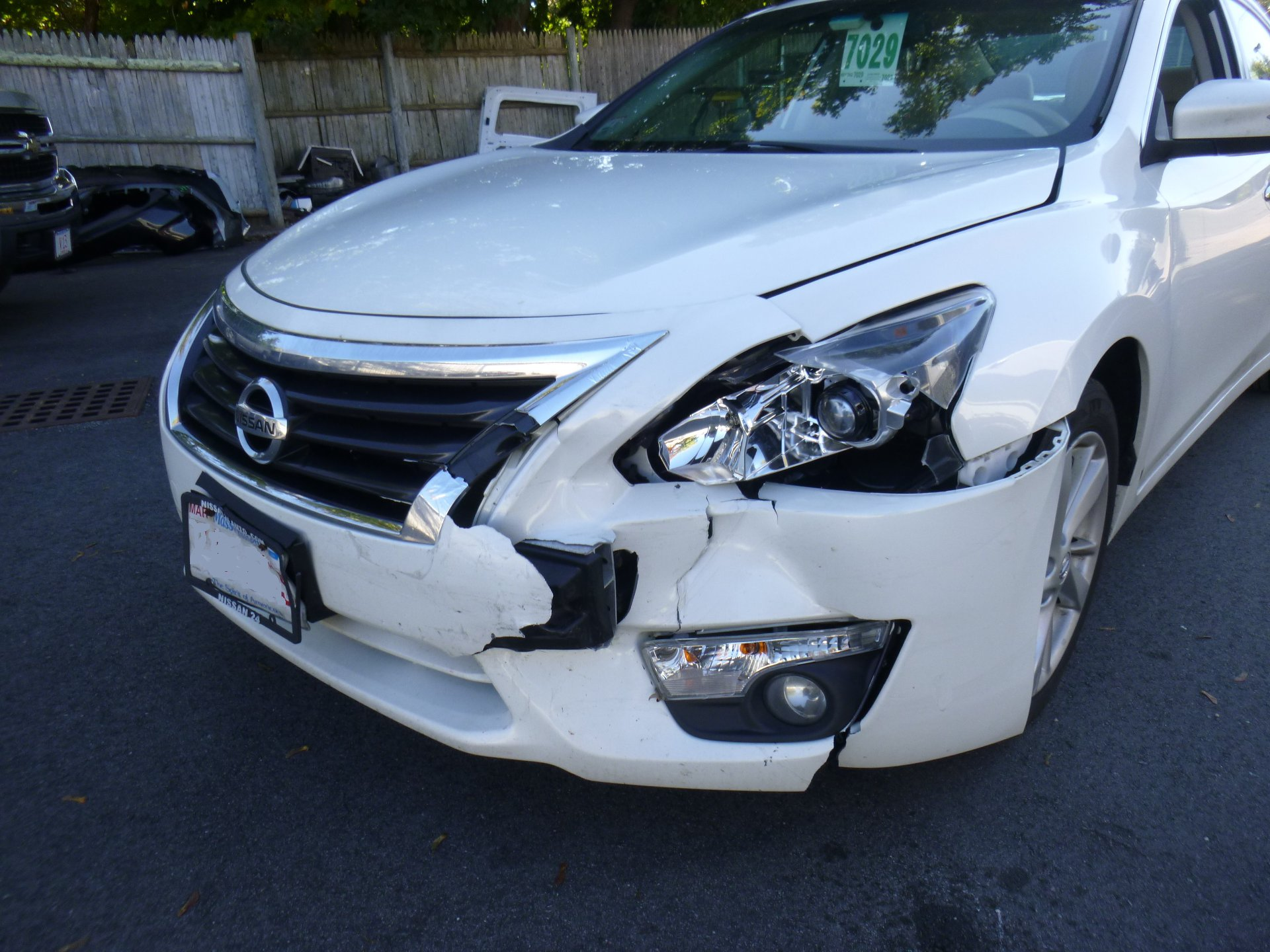 WHITE ALTIMA BEFORE