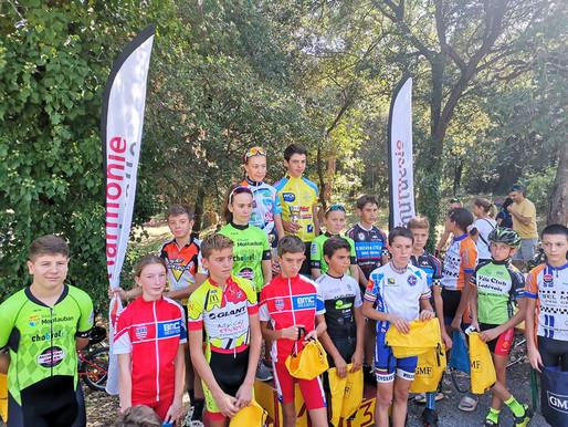 Belle participation au cyclo-cross du Boulou