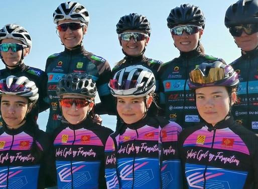 Les coureurs du CC Le Boulou prêts a en découdre avec un programme de courses intense.