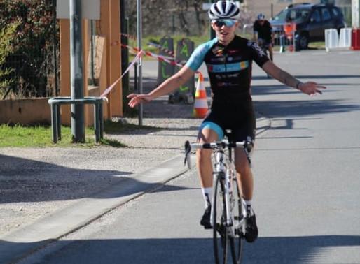 1ère victoire pour Clara Levarlet