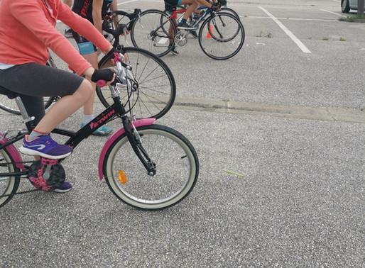 Reprise des activités de l'école de vélo