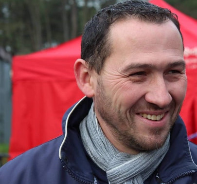 Olivier Feytou manager du team Ladies cycling formation