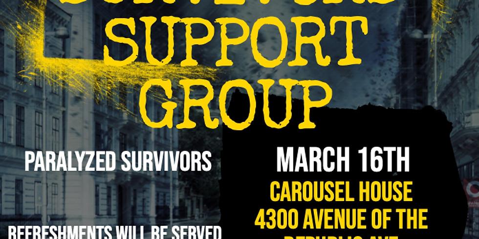 March Gun Violence Survivors Support Group
