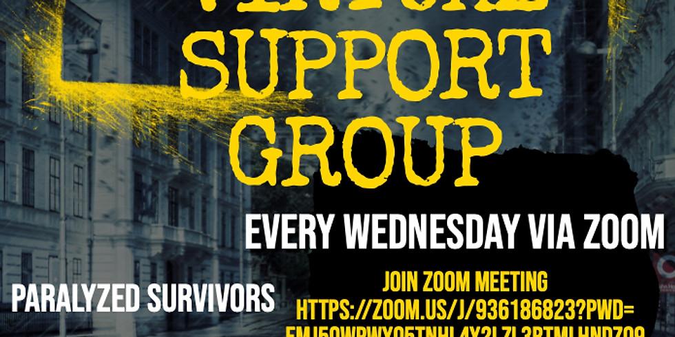 Gun Violence Survivors Virtual Support Group