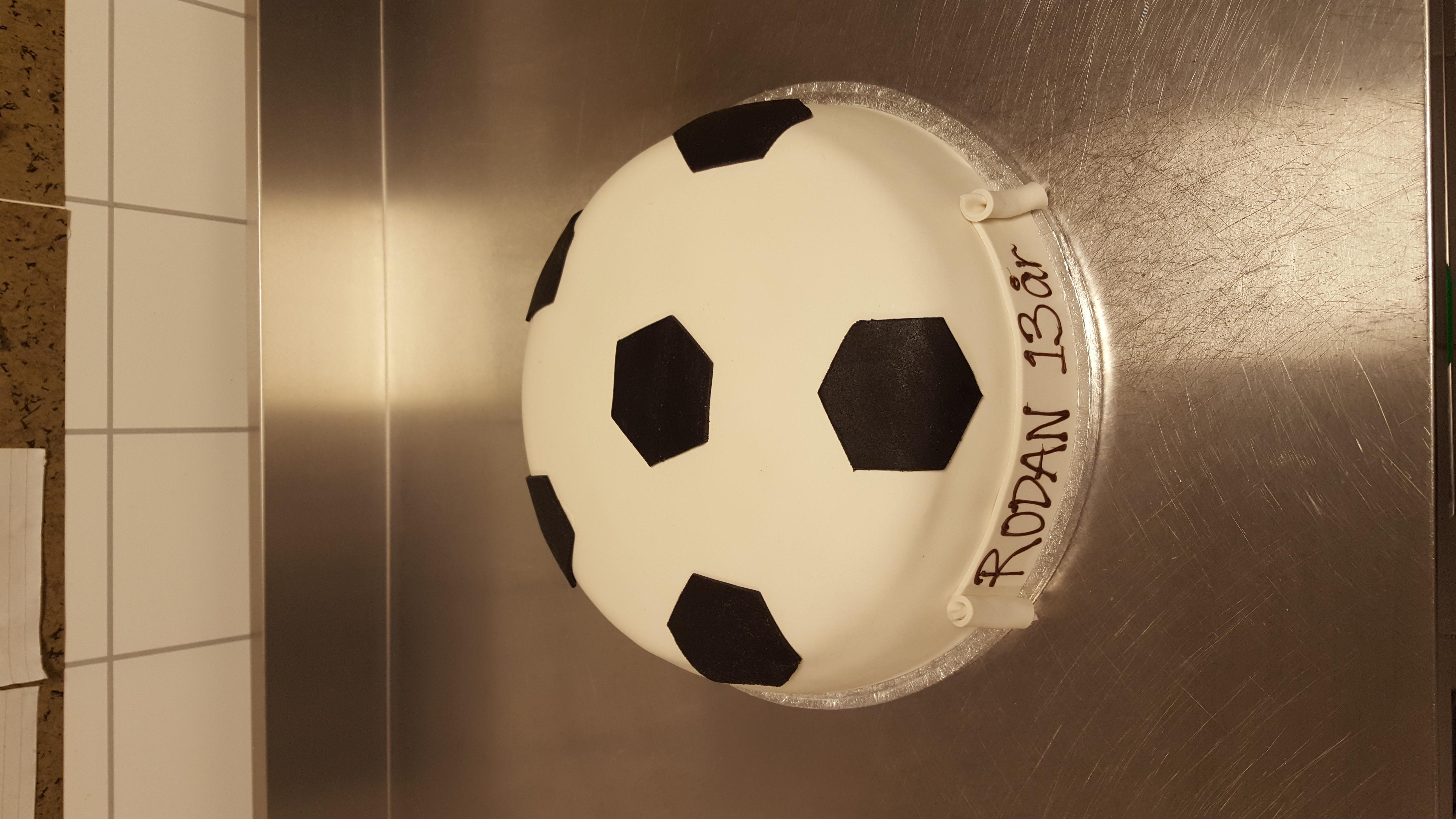 Fotball bursdagskake