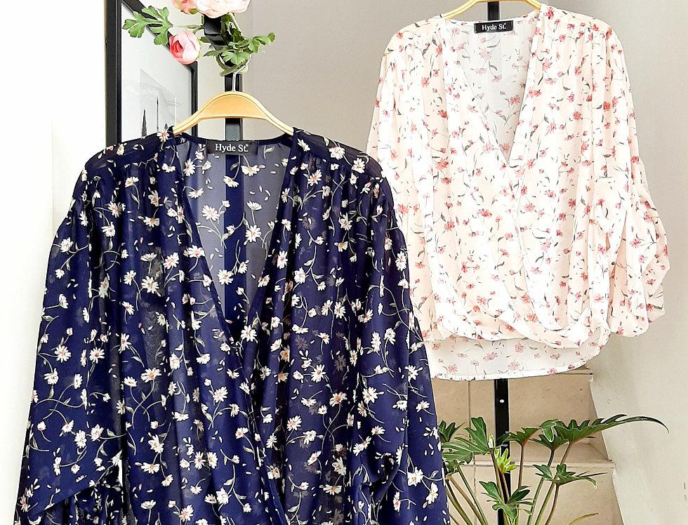 Blusa Floral Chiffon