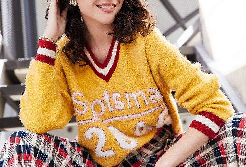 Sweater Mostaza