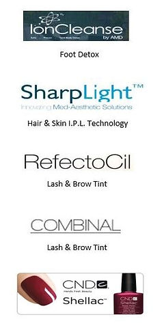 AMD-ionic-foot-detox-Sharplight-IPL-Hair Reduction-Skin-Rejuvenation-Sun-Spots-and-Veins-Combinal-Refectocil-Shellac-polish.JPG