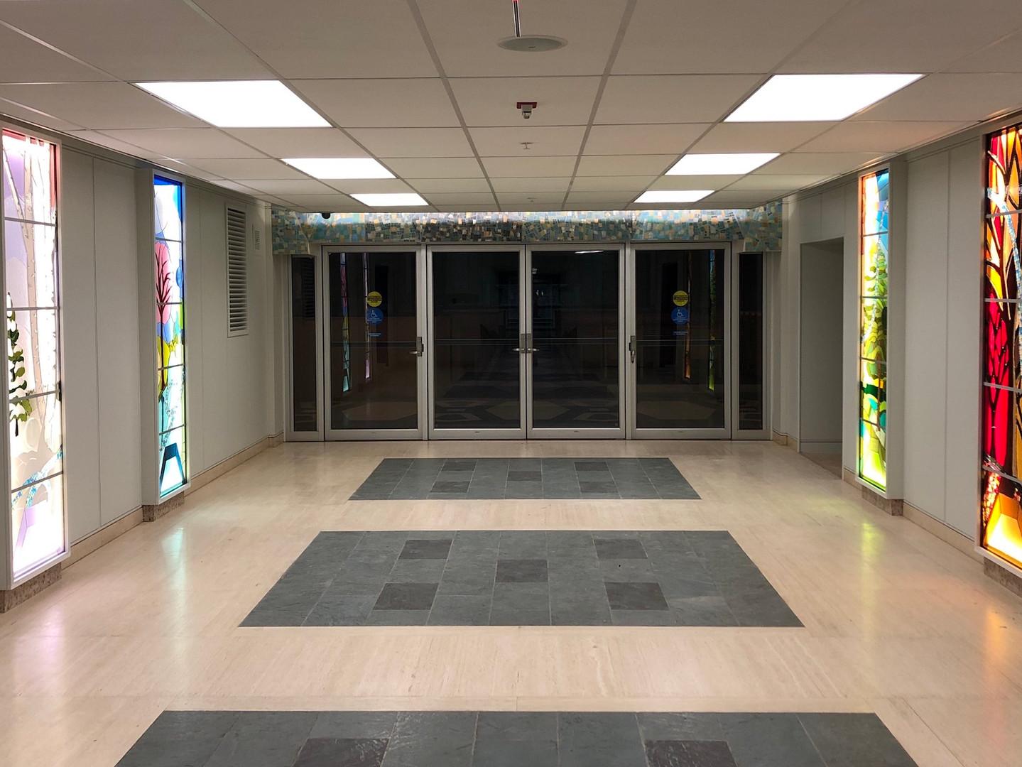 Tyndale Chapel Foyer Installation