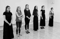 Rehearsal shot: The Handmaids Tale