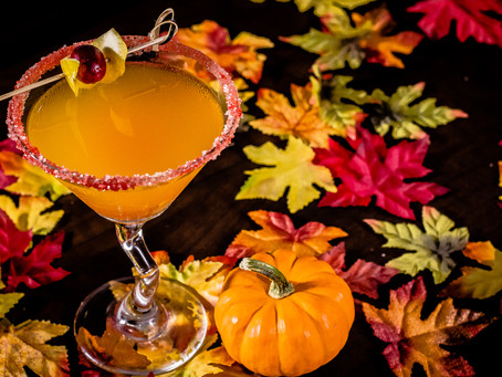 Pumpkin Ginger Martini