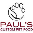 Pauls Custom Dog Food