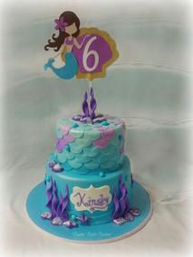Mermaid Cake with Custom Topper.jpg