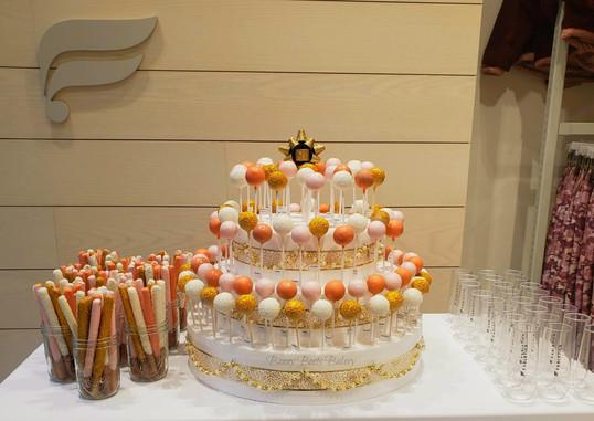 Peachy Cake Pops and Preztel Rods - Fabl