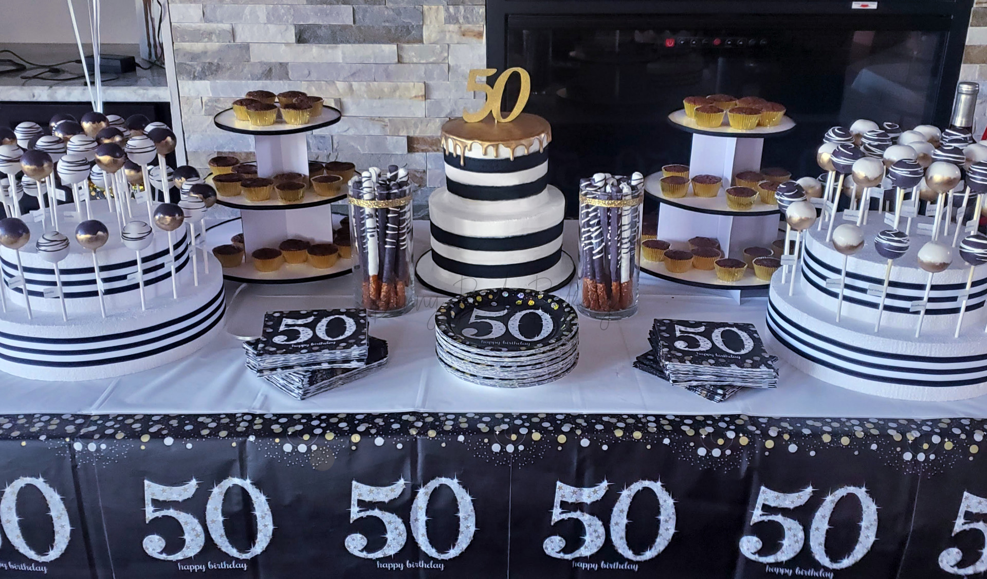 Black and White 50th Dessert Table.jpg