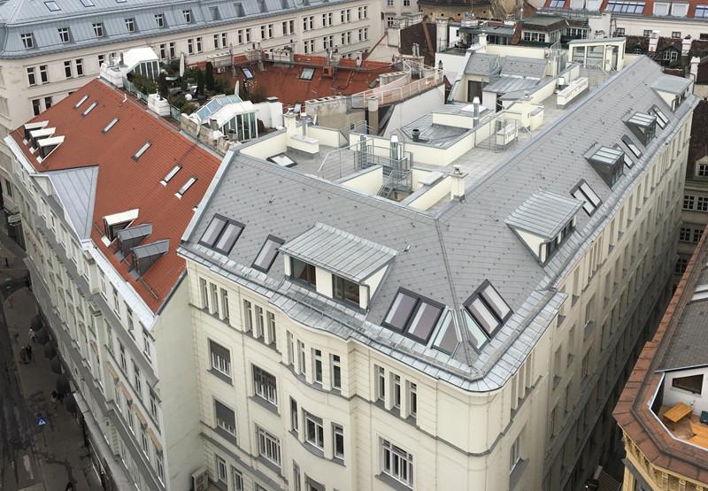 Dachgeschossausbau TL13, 1010 Wien