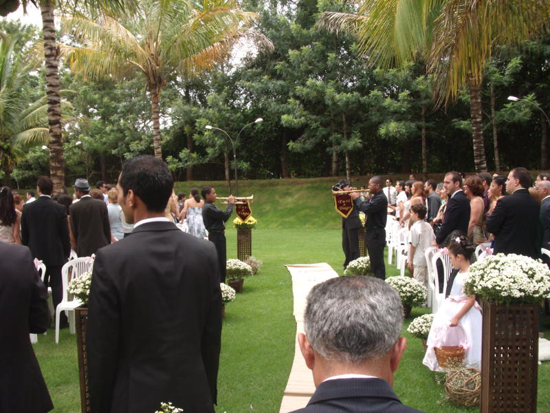 Clarinada - entrada da noiva