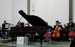 Orquestra Orpheus na Igreja Batista