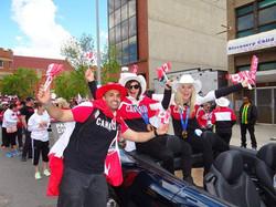 Olympic Parade - Canada