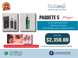 PAQUETE 5 MUJER