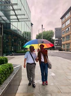 In London with Tadao Sensei