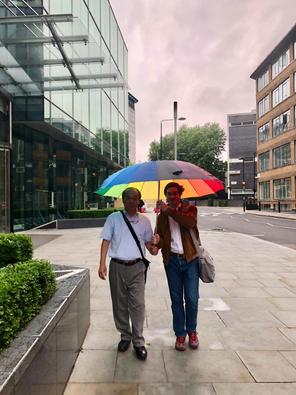 Em Londres com Tadao Sensei