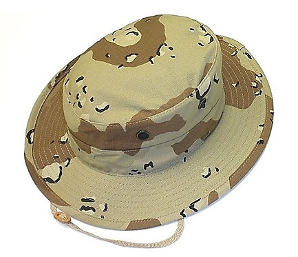R&B Military 6-Color Desert Camo Boonie Hat