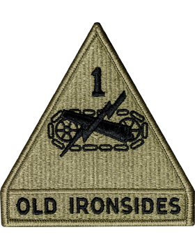 US Army OCP 1st Armor Division Patch