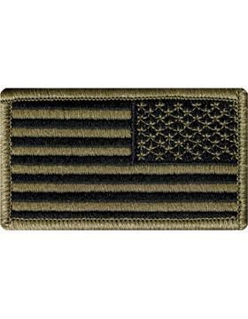 US Army OCP Reverse American Flag Patch