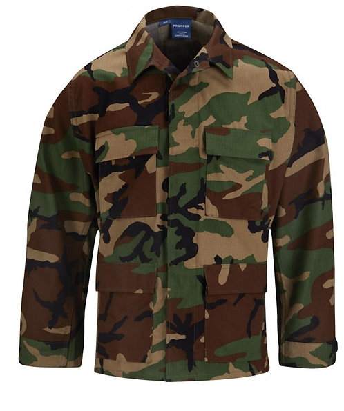Propper Woodland Camo BDU Shirt