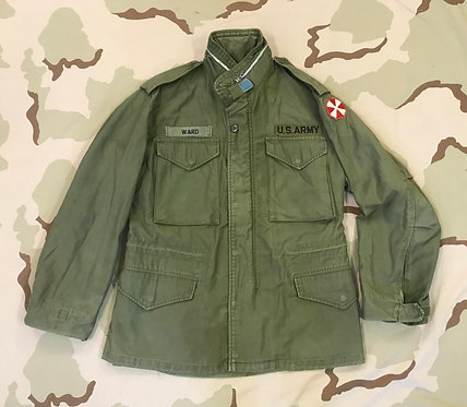 US Army M-65 Green Field Jacket OG-107 - Named