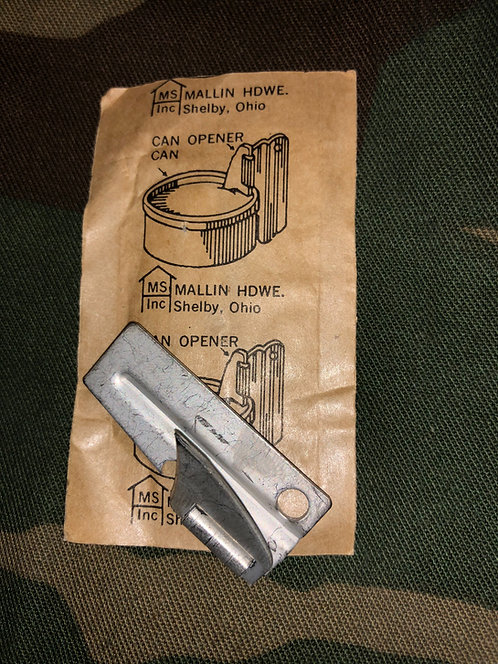 US Military C Ration P-38 Can Opener by Mallin