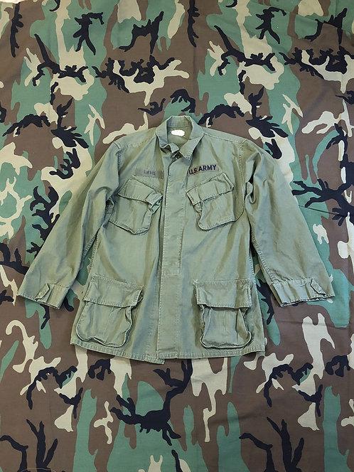 US Army OG-107 Vietnam War Slant Pocket Shirt