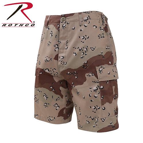 Rothco 6 Color Desert Camo BDU Shorts