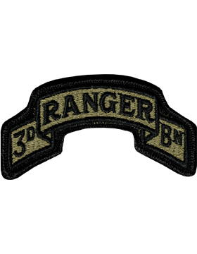 US Army OCP 75th Ranger 3rd Battalion Patch