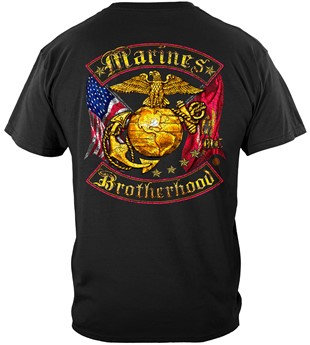 USMC Brotherhood Military T-Shirt