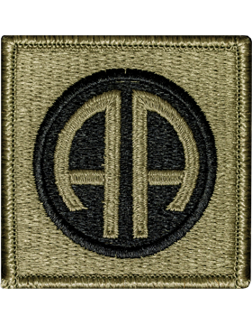 US Army OCP 82nd Airborne Division Patch