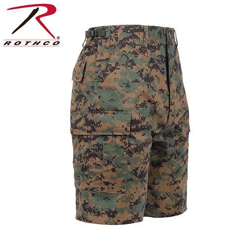 Rothco Woodland Digital Camo BDU Shorts