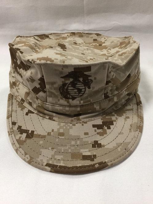 R&B USMC Desert Marpat 8-Point Cover w/ EGA