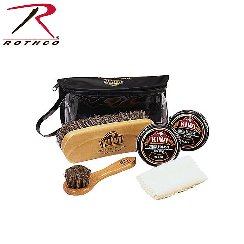 KIWI BLACK BOOT SHOE CARE KIT